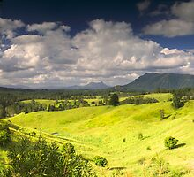 Mt Warning from Stoney Chute by Nimbin Panoramics by akaphot