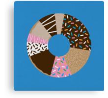 Doughnut Chart Canvas Print