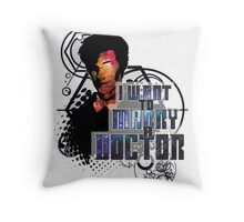 Marry a Doctor Smith Throw Pillow