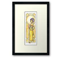 Jaune Framed Print