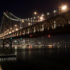 The two Bridges of San Francisco by MattGranz