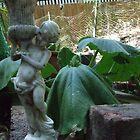 droopy garden cherub by anaphylaxis