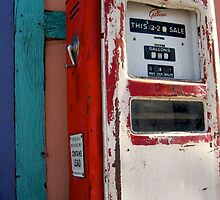 Vintage Gas Pump by a4design