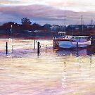 &#x27;Harbour Lights - Apollo Bay&#x27; by Lynda Robinson