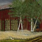 Old Man Walker's Barn... prints and products by © Bob Hall