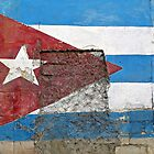 Cuban Flag Mural © by Ethna Gillespie
