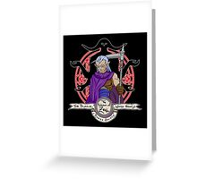 Zeal Mages Society Greeting Card