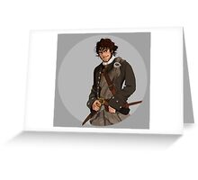 Outlander's Jamie Greeting Card