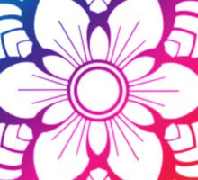 Warm Mandala Sticker
