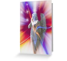 Starburst Angel Greeting Card