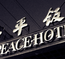 OLD SHANGHAI - Peace Hotel Sticker