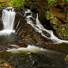 Falls Along Waterman Brook by Stephen Beattie