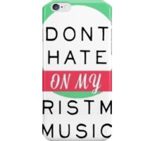 Christmas Music iPhone Case/Skin