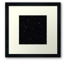 Sky and Stars Framed Print