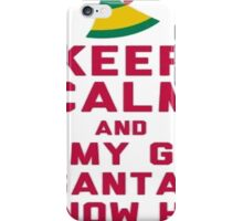 I Know Him iPhone Case/Skin