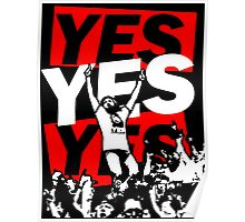 Yes Movement! - Black Poster