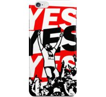 The Yes Movement [White] iPhone Case/Skin