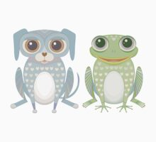 Prince Frog and Lanky Dog Kids Clothes