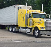 Yellow Semi by Karl R. Martin