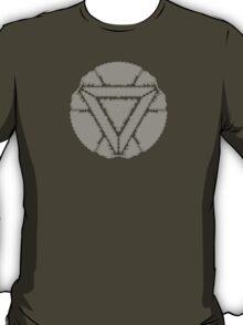Celtic Ironman Arc Reactor Mk2 White no fill T-Shirt