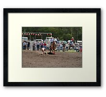 Picton Rodeo ROPE1 Framed Print