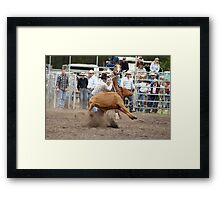 Picton Rodeo ROPE3 Framed Print