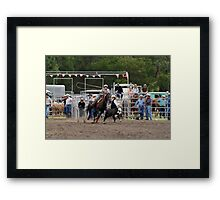 Picton Rodeo ROPE8 Framed Print