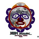 Moon Mask from the Northwest Mask series by richardredhawk