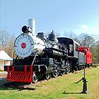 Vintage Trains by Donnie Shackleford
