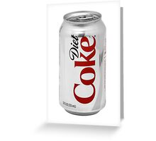 Diet Coke Greeting Card