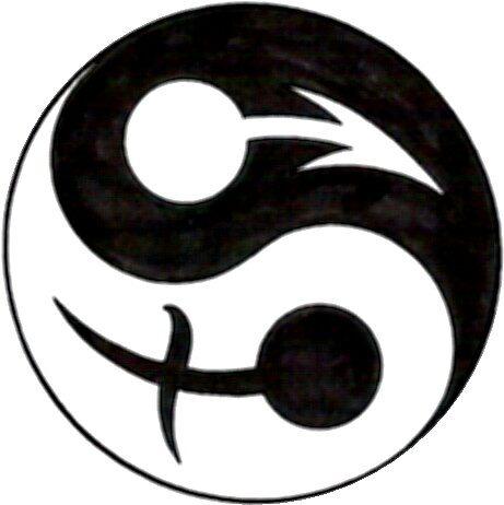 Yin Yang w/ a twist by Debbi Tannock