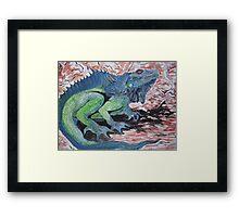 Dragon- the Lizardy Kind Framed Print