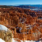Inspiration Point - Winter - Panorama by Stephen Beattie