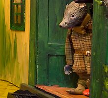 Wind in the Willows - Listening to the carol singers by MicksPhotoArt