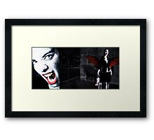 Vampire hunter Framed Print