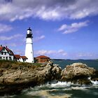 Portland Head Lighthouse, Cape Elizabeth, Maine by Artlife