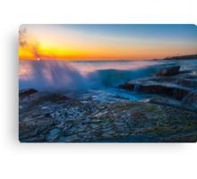 Aliso Beach Sunset Canvas Print