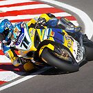 Suzuki World Superbike rider Yukio Kagayama by Mark Greenwood
