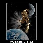 Bald Eagle POSSIBILITIES Motivational Wildlife by Val  Brackenridge