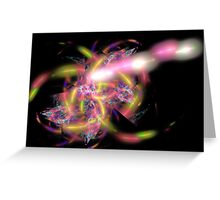 Apophysis Fractal 3 Greeting Card
