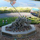 Iwo Jima: The Lego Brick by genevaspecials