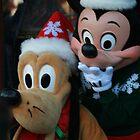 Mickey and Goofy Holidays by jukeboxphoto