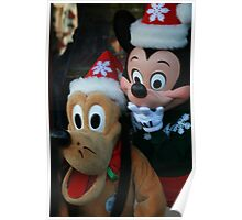 Mickey and Goofy Holidays Poster