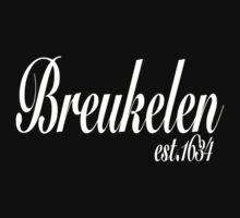 Ye Olde Brooklyn Tee - White by alenky