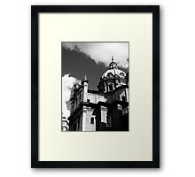 A view from the Forum Framed Print