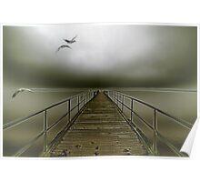 geese flight Poster