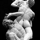 Rape of the Sabines I by Bonnie Blanton
