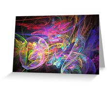 Apophysis Fractal 10 Greeting Card