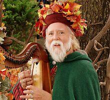 Happy Minstrel by Rodney Williams