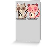 Army of Too Cute Greeting Card